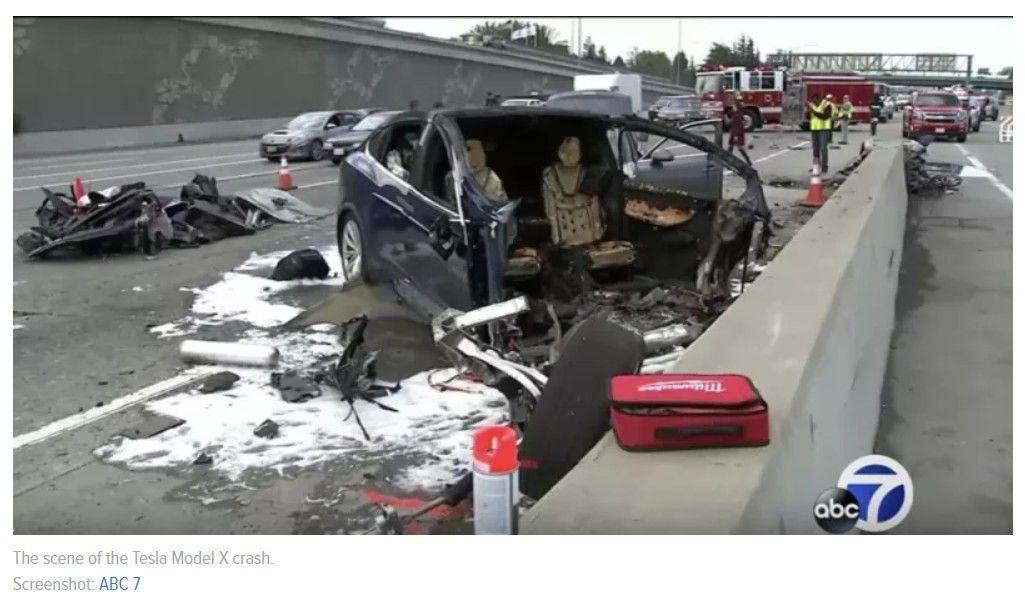 Who S At Fault When Crashes Happen With Tesla S Autopilot Tesla Tesla Model X Crash
