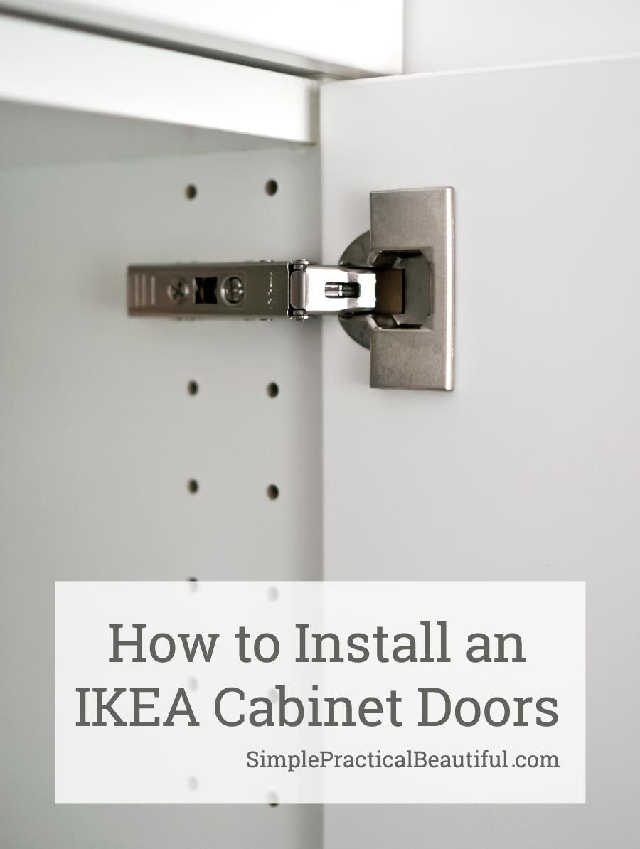How To Attach An Ikea Sektion Cabinet Door Simple Practical Beautiful Cabinet Doors Ikea Sektion Cabinets Doors