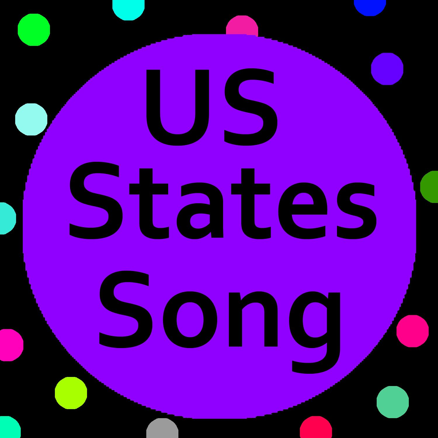 Us States Song With Lyrics Helps Kids Learn The 50 States