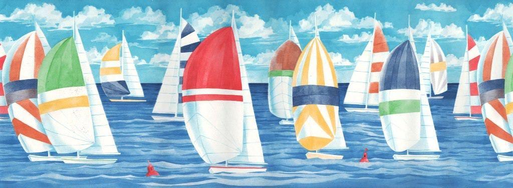 Cute Nautical Wallpaper Border Concepts In 2020 Nautical