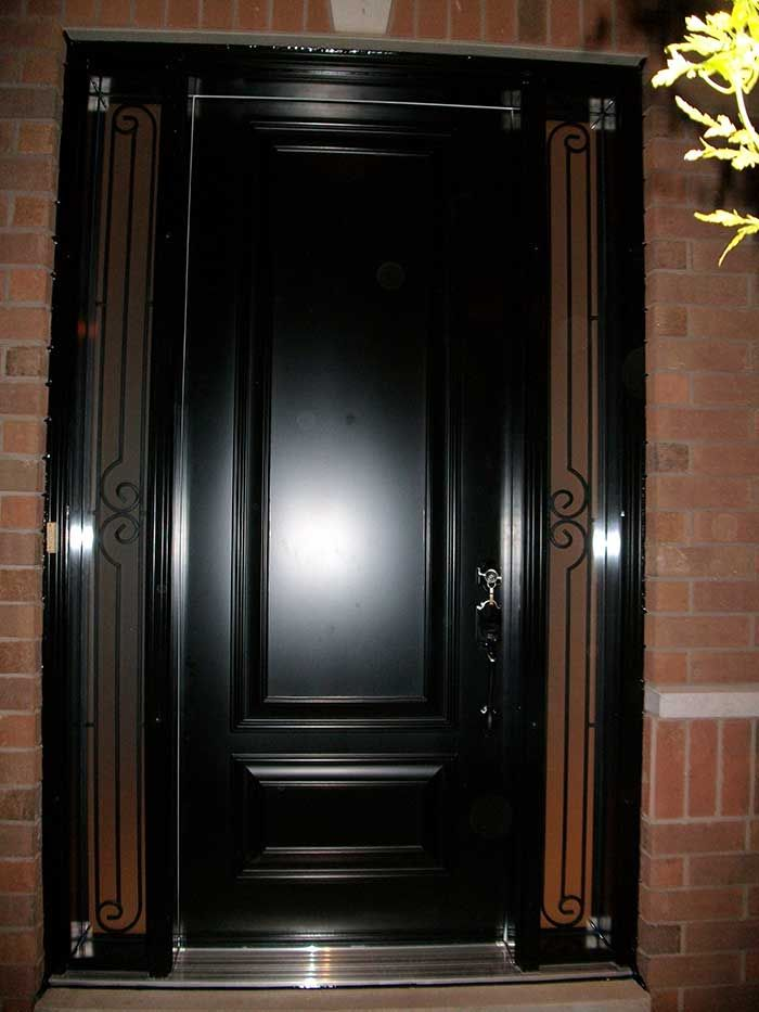 Single Entry Door Images Google Search Iron Door Pinterest - Solid front doors