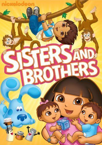 Nick Jr Favorites Sisters Brothers Dvd Nickelodeon Favorites