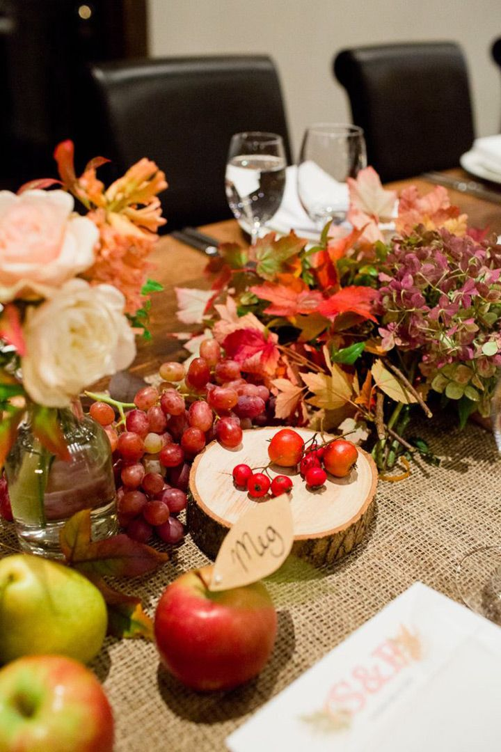 Fall Wedding Tablescapes To Impress
