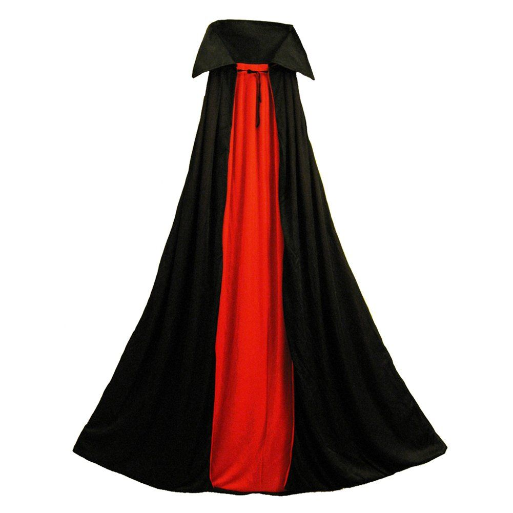 "New Adult 48/"" RED Superhero Cape Halloween Costume"