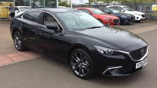 used 2015 64 reg black mazda 6 175 sport nav 4dr auto for sale on rac cars cuddle. Black Bedroom Furniture Sets. Home Design Ideas