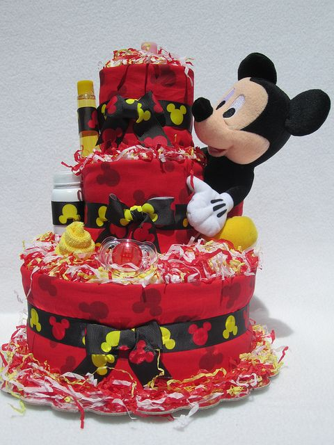 Attractive Mickey Mouse Baby Shower | Mickey Mouse Baby Diaper Cake Shower Gift  Newborn Present | Flickr