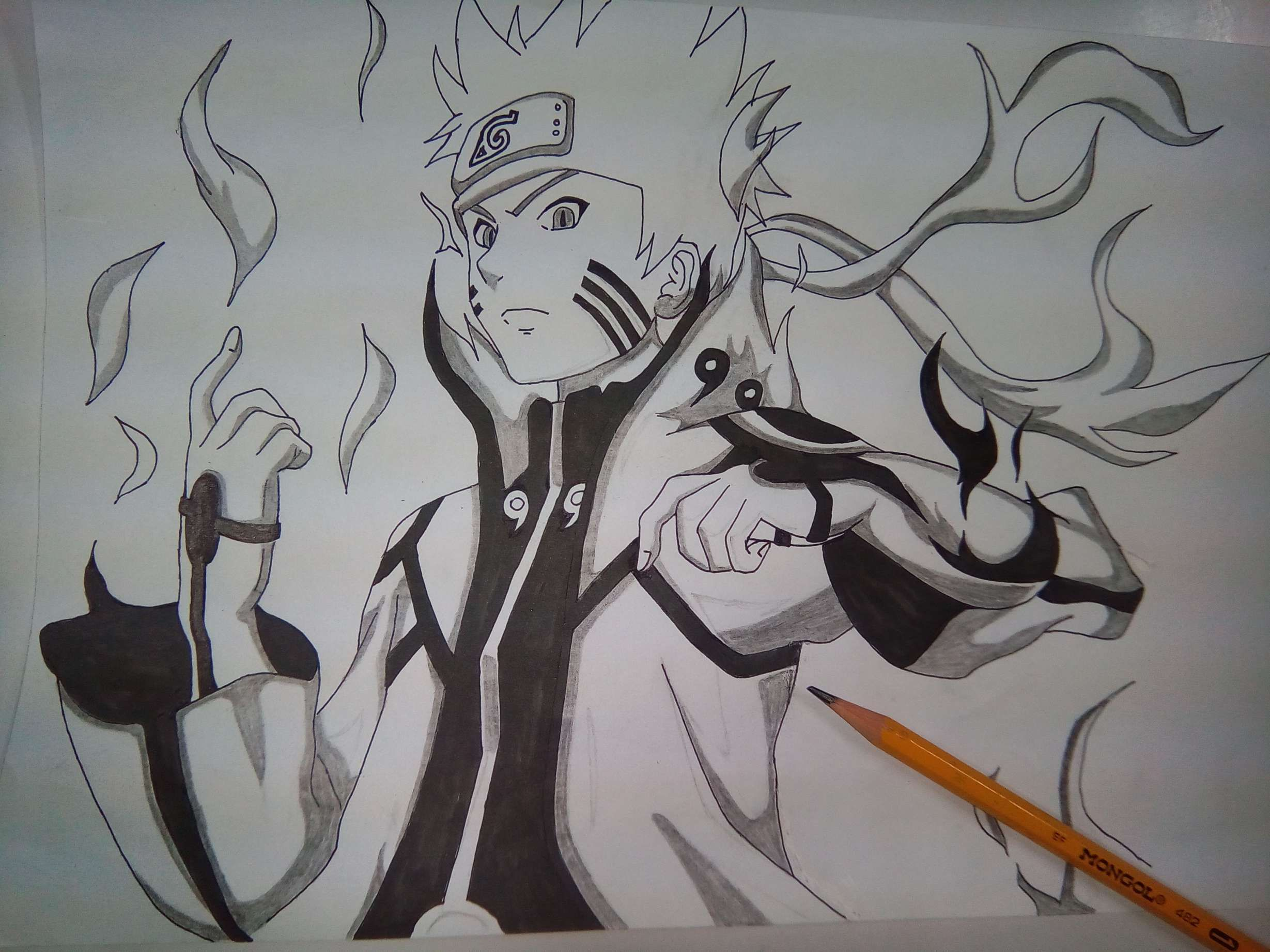 Naruto Drawing Images And Anime Character Drawing Challenge Naruto In Sage Mode In 2020 Naruto Drawings Anime Character Drawing Character Drawing