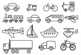 worksheets on means of transport google search kindergarten worksheets pinterest art. Black Bedroom Furniture Sets. Home Design Ideas