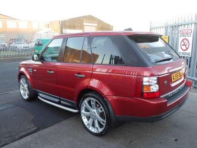 2005 range rover sport 2.7 tdv6 hse 5-door auto estate. red. hi ice