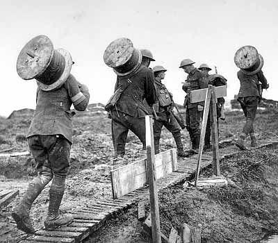 Communication advancement: Wire-laying | Technology of WWI ...