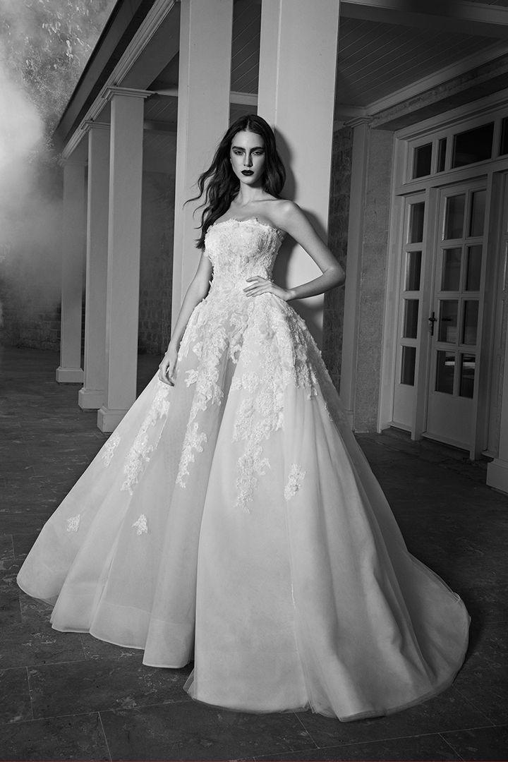 Los mejores vestidos de novia de New York Bridal Week FW16 - Púrpura