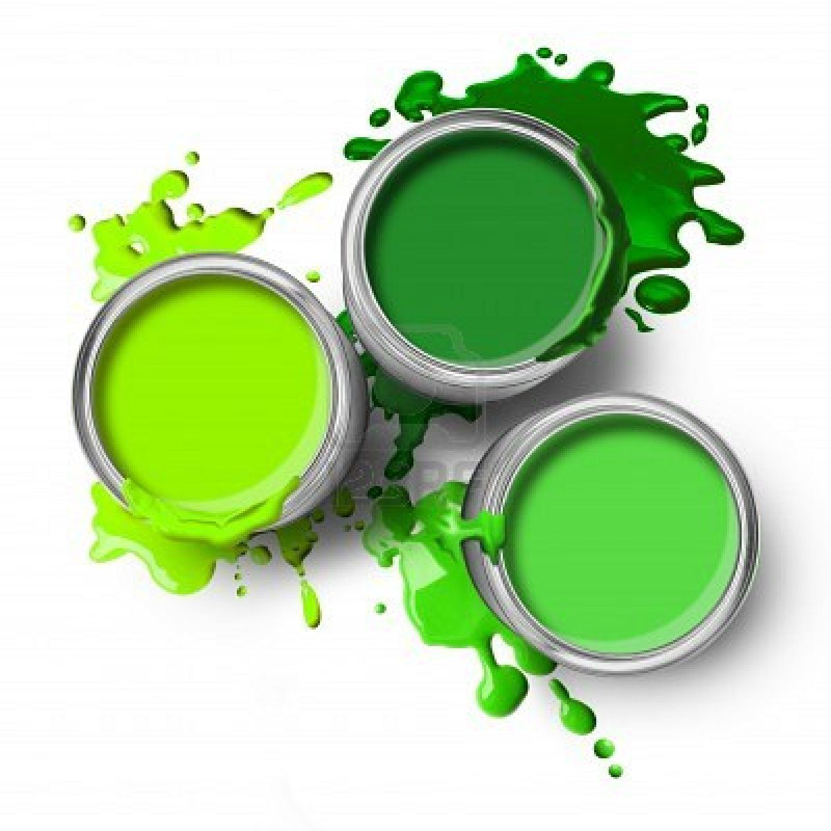 """Different Shades Of Yellow Paint ron: """"caryl, were you thinking to paint all the walls green?"""" me"""