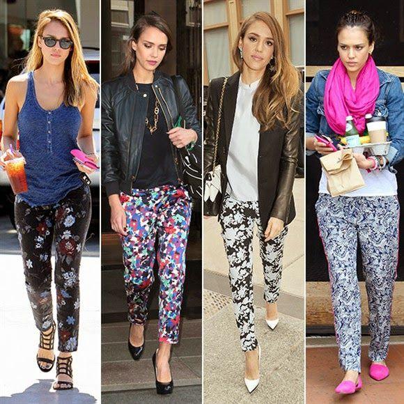 Moda De Pantalones Floreados Aprende Como Combinarlos Y Lucir Bella Bella Pantalones Floreados Pantalones Estampados Outfits Pantalones