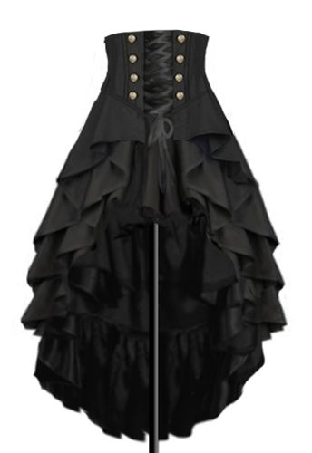 a4d25abe080 Steampunk Skirt Design by Amber Middaugh  gothicfashion