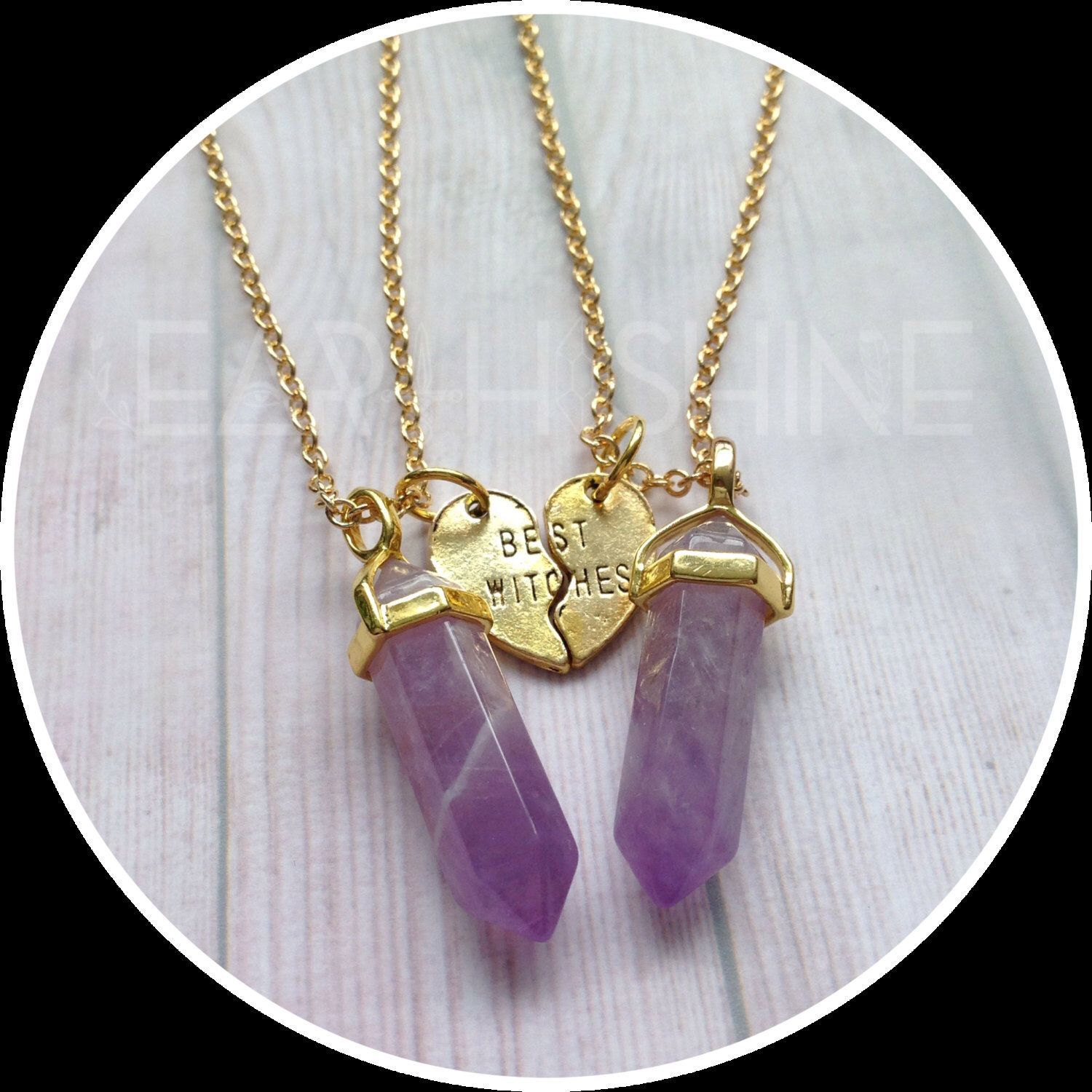 Best Witches Crystal necklaces, YOUR CHOICE OF gemstone ...
