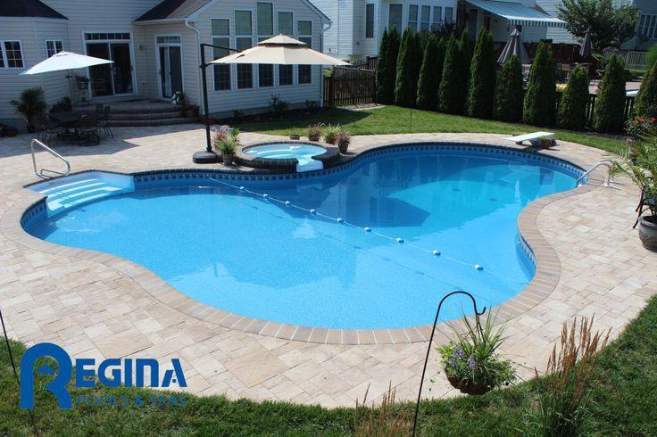 16 32 lagoon shaped inground pool google search for for Pool design utah