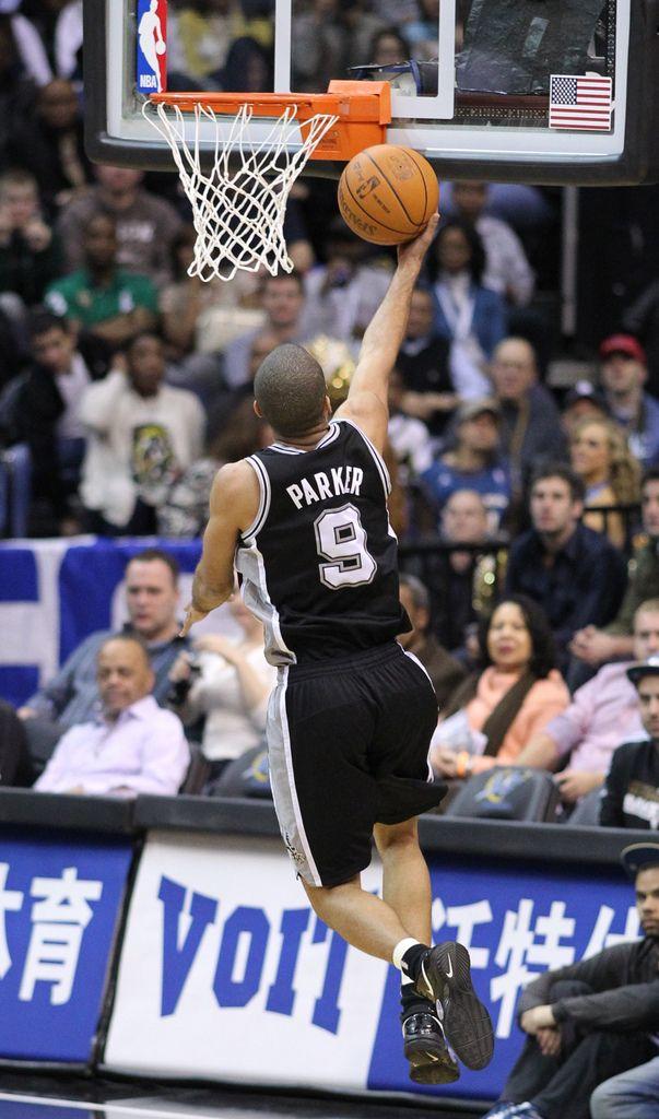 Peak endorsement agreement with NBA allstar Tony Parker