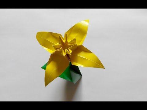 4 frantiek grebenek narcissus 4 frantiek grebenek narcissus origami 4 petals mightylinksfo Images