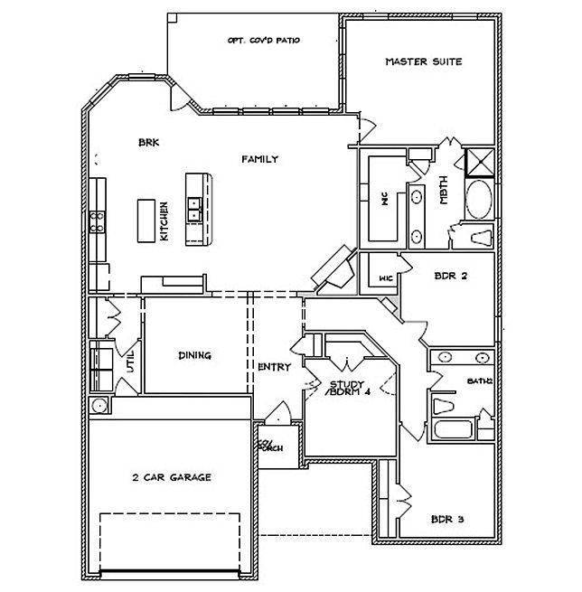 Marvelous Dr Horton Floor Plans #9 - D.R. Horton Homes Floor Plans ...
