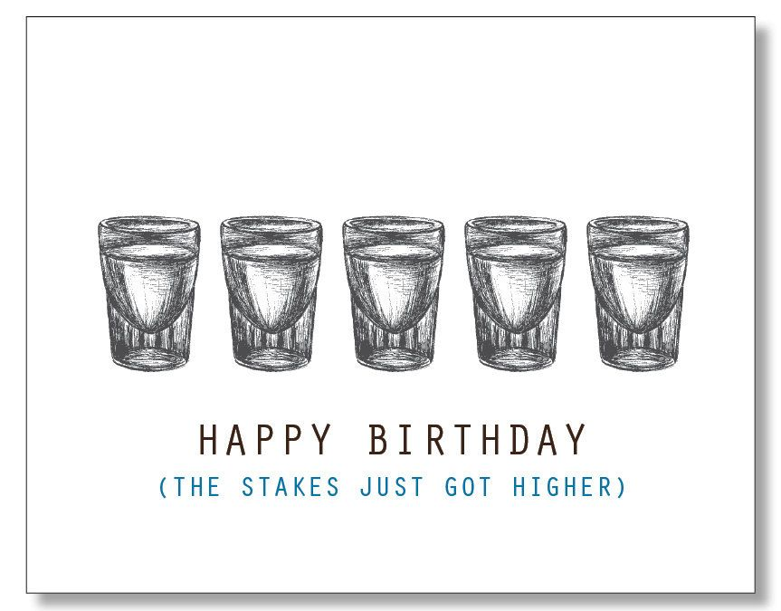 Shots Card Happy Birthday Dude Alcohol Card Hilarious Funny Card For Men Beer Card Vodka Card Te Birthday Humor Birthday Wishes Funny Happy Birthday Funny