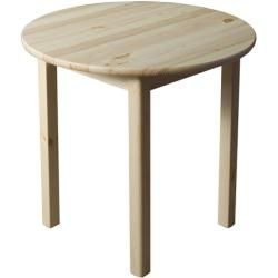Tables Rondes Reduites Table En Pin Massif En Bois Massif