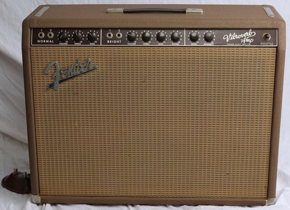 1963 fender vibroverb brownface electric guitars amps pinterest. Black Bedroom Furniture Sets. Home Design Ideas