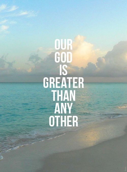greater.