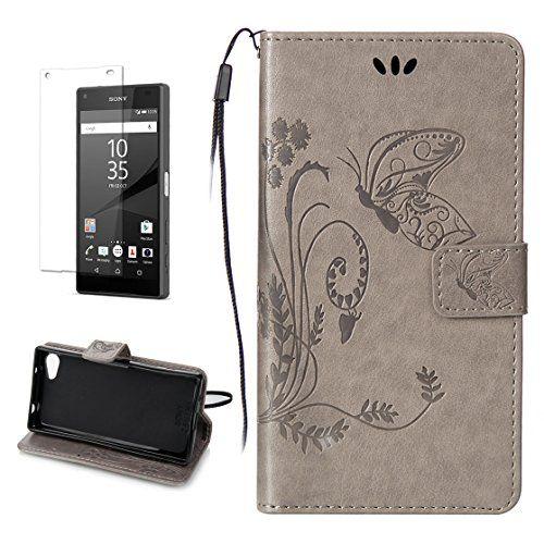 Yrisen 2in 1 Sony Xperia Z5 Compact Z5 Mini Tasche Hulle Sony Sony Xperia Amazon