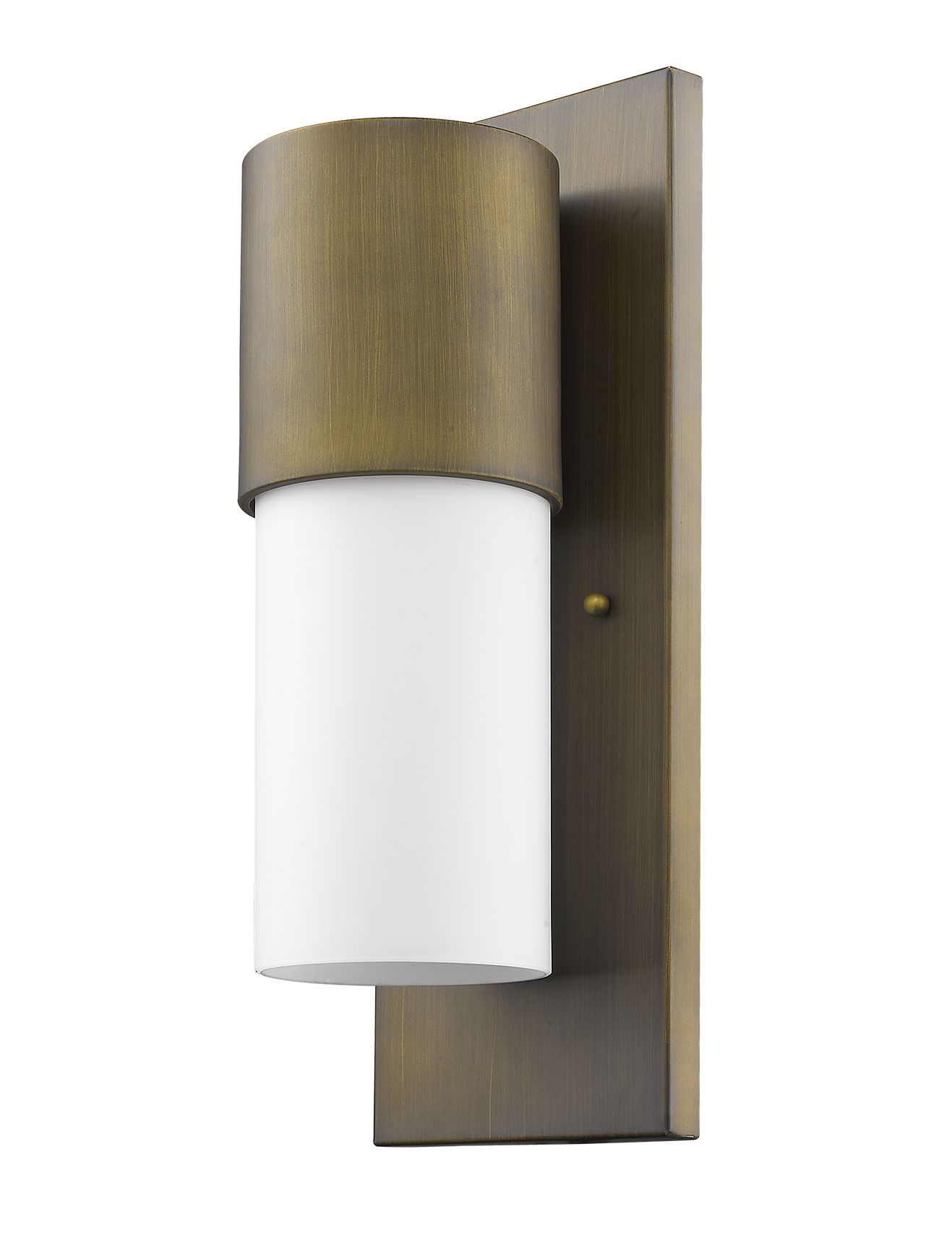 Cooper 1 Light Wall Mount In A Raw Brass Finish Brass Outdoor Lighting Outdoor Sconces Outdoor Wall Sconce