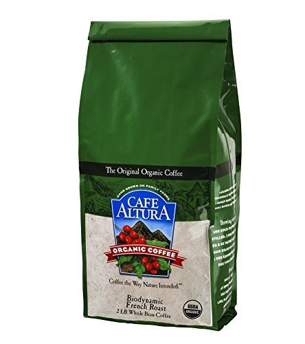 ** Quickly view this special product, click the image: Cafe Altura Whole Bean Organic Coffee, Biodynamic French Roast, 2 Pound at Coffee Beans.