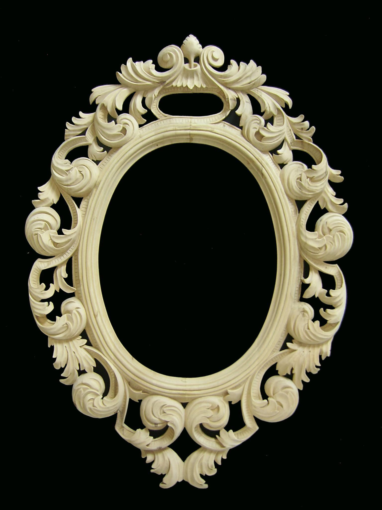 Hand Carved Wood Frame Wooden Mirror Frame Wooden Mirror Gold Picture Frames