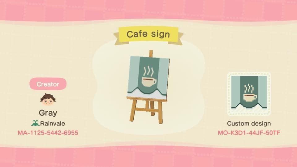Coffee stall animal crossing cafe animal crossing