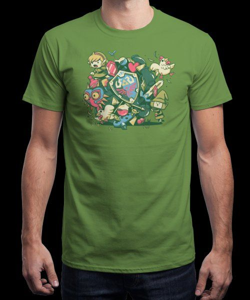 """""""Let's Roll Link"""" is today's £9/€11/$12 tee for 24 hours only on Pin this… 