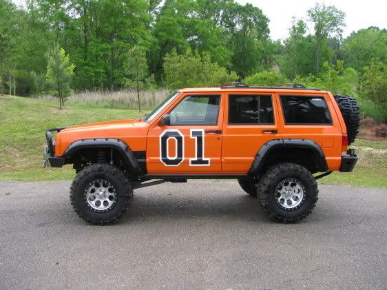 Not The General Lee Cherokee Xj Jeep Xj Jeep Cherokee Jeep