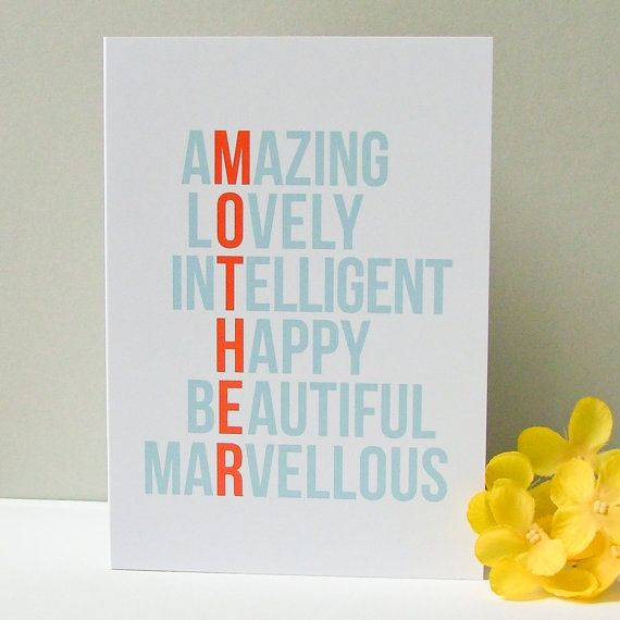 Your Amazing - Birthday & Mothers Day Card | My mom, Mom and Ideas ...