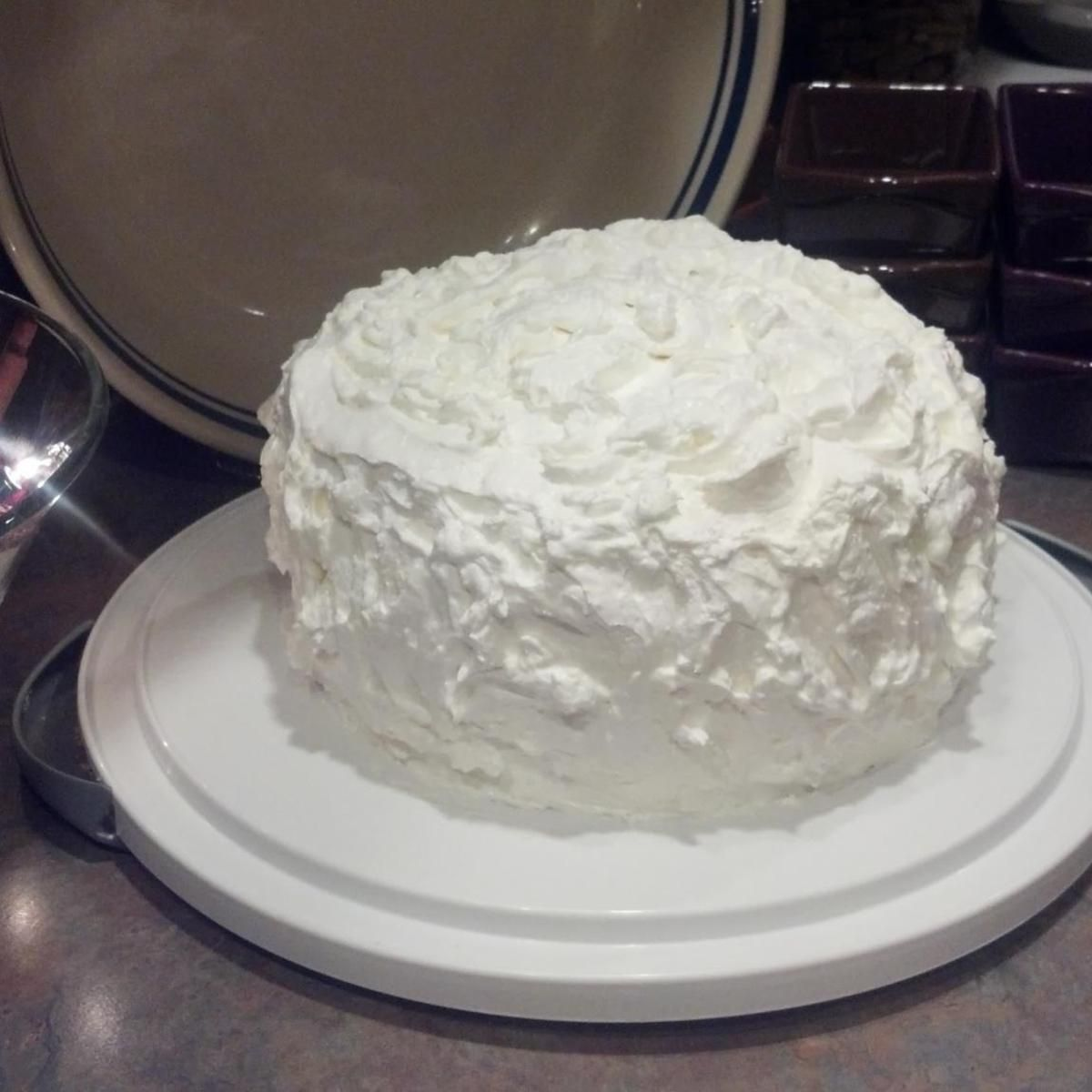 Sour Cream Coconut Cake Sour Cream Coconut Cake Coconut Cake Recipe Coconut Cake