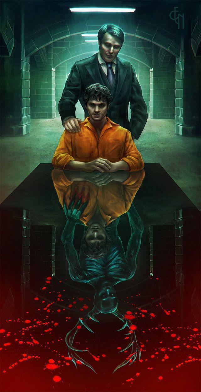 Hannibal Nbc Prison By Eneada On Deviantart Hannibal Tv Series Hannibal Hannibal Series