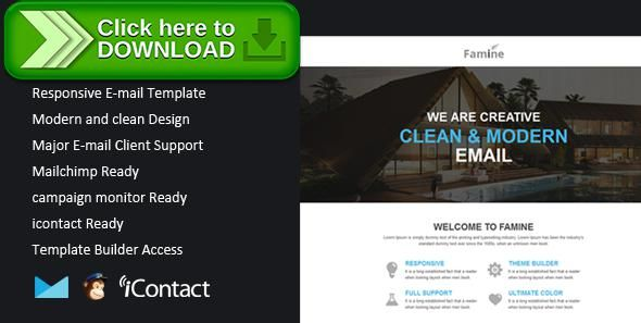 Free Nulled Famine Responsive Email Themebuilder Access Download