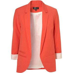 Womens Peach Blazer | Fashion Ql
