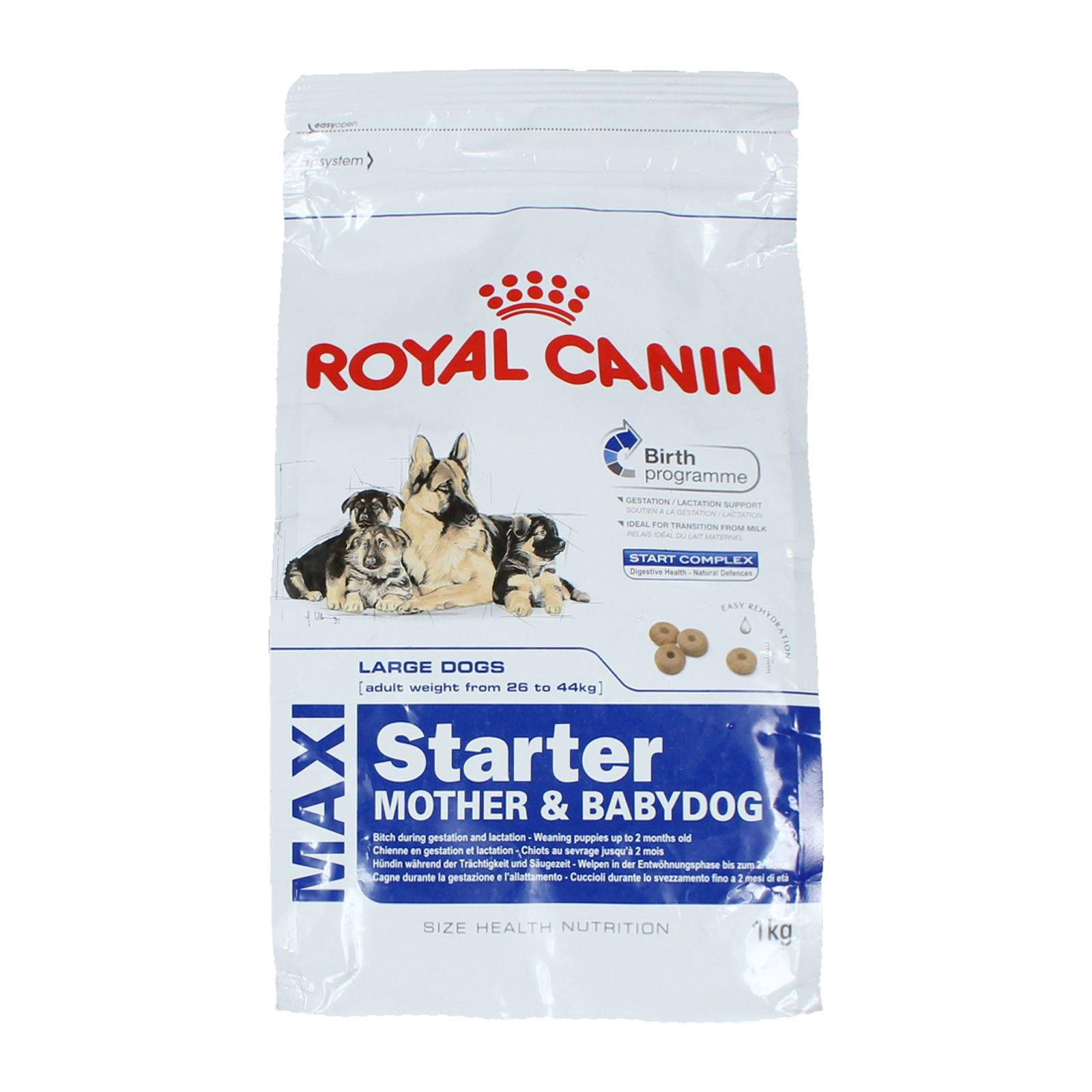 8 Off On Royal Canin Maxi Starter Large 1kg Dog Food Comparison Dog Food Comparison Chart Dog Food Allergies