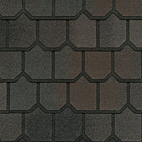 Best Midnight Blush Gaf Designer Roof Shingles Swatch 400 x 300