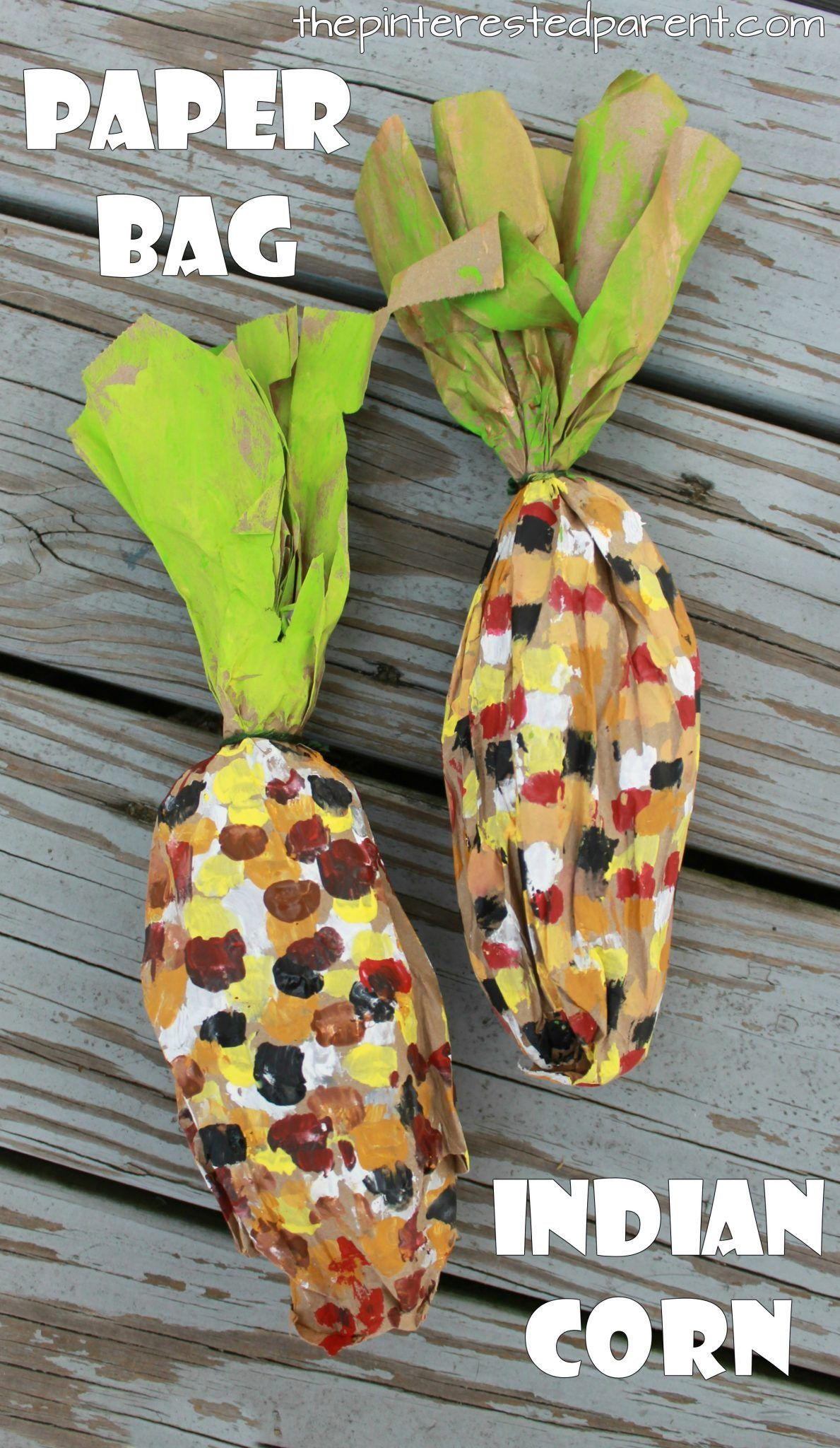 Brown paper bag crafts for the fall these stuffed paper bag brown paper bag crafts for the fall these stuffed paper bag indian corn apple jeuxipadfo Gallery