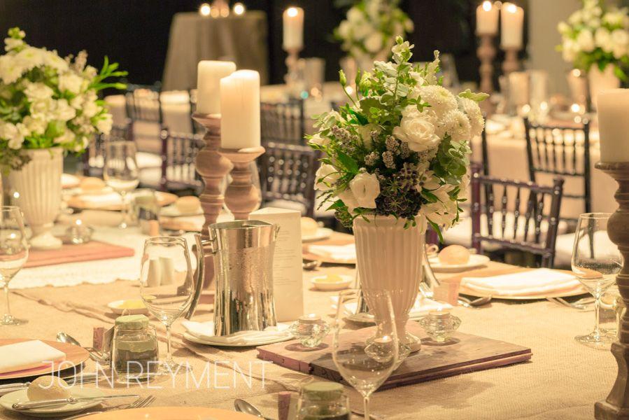 Emporium Hotel Wedding reception, flowers by Kate Dawes Flower Design