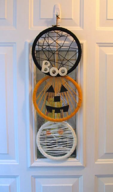 Halloween door decor\u2026 Embroidery / hoop art Pinterest Doors - pinterest halloween door decor