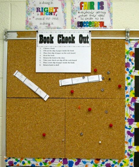 classroom library checkout system i teaching pinterest
