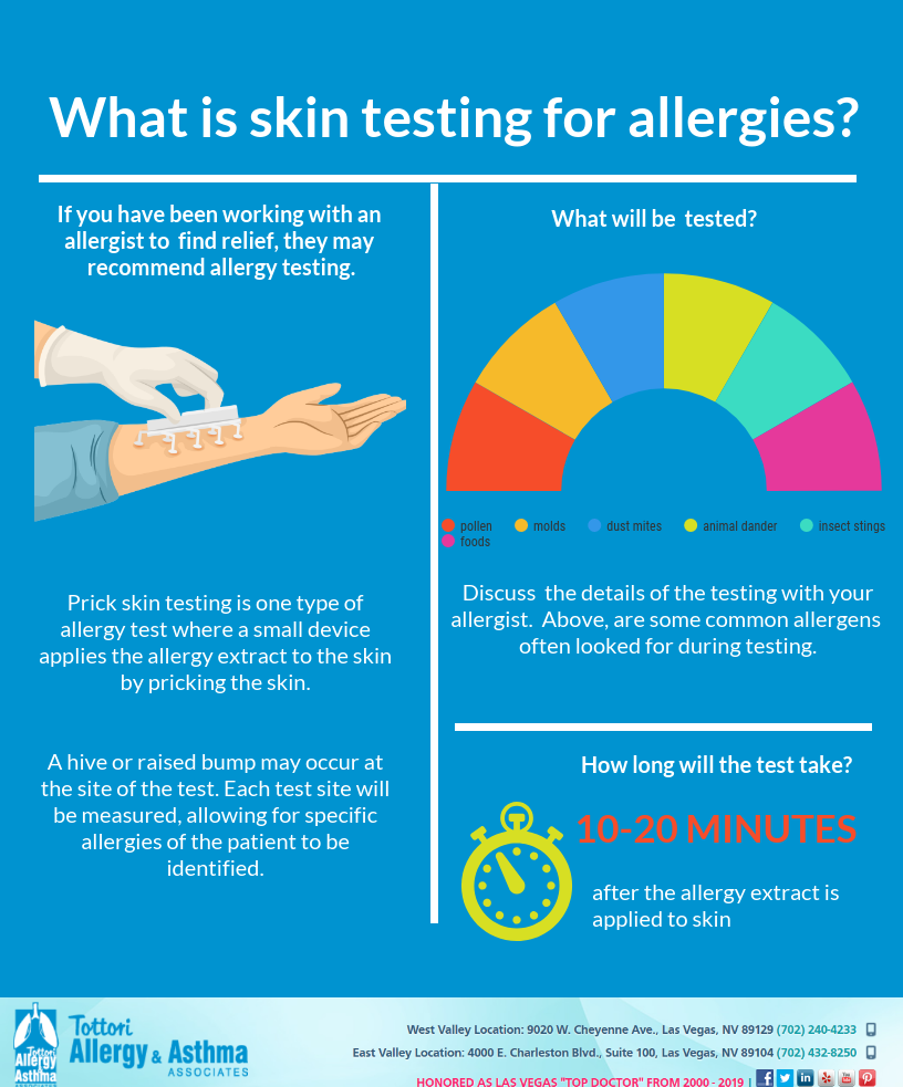 Allergy Testing Immunology Las Vegas Dr Tottori Allergy Testing Skin Allergy Testing Allergies