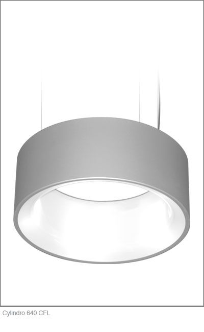 Delray Lighting Cylindro 640 Cfl
