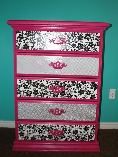 Mod Podge Dresser This For Amber S Instead Of Ing A