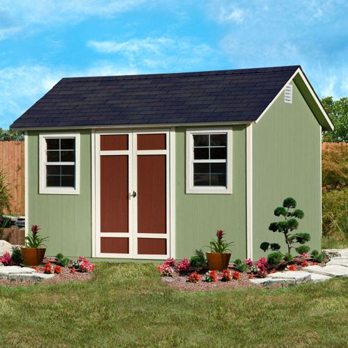 Pre Cut Timber Frames For Buildings Storage Garages And More: Yardline Wilmington 12 Ft. X 8 Ft. Storage Shed