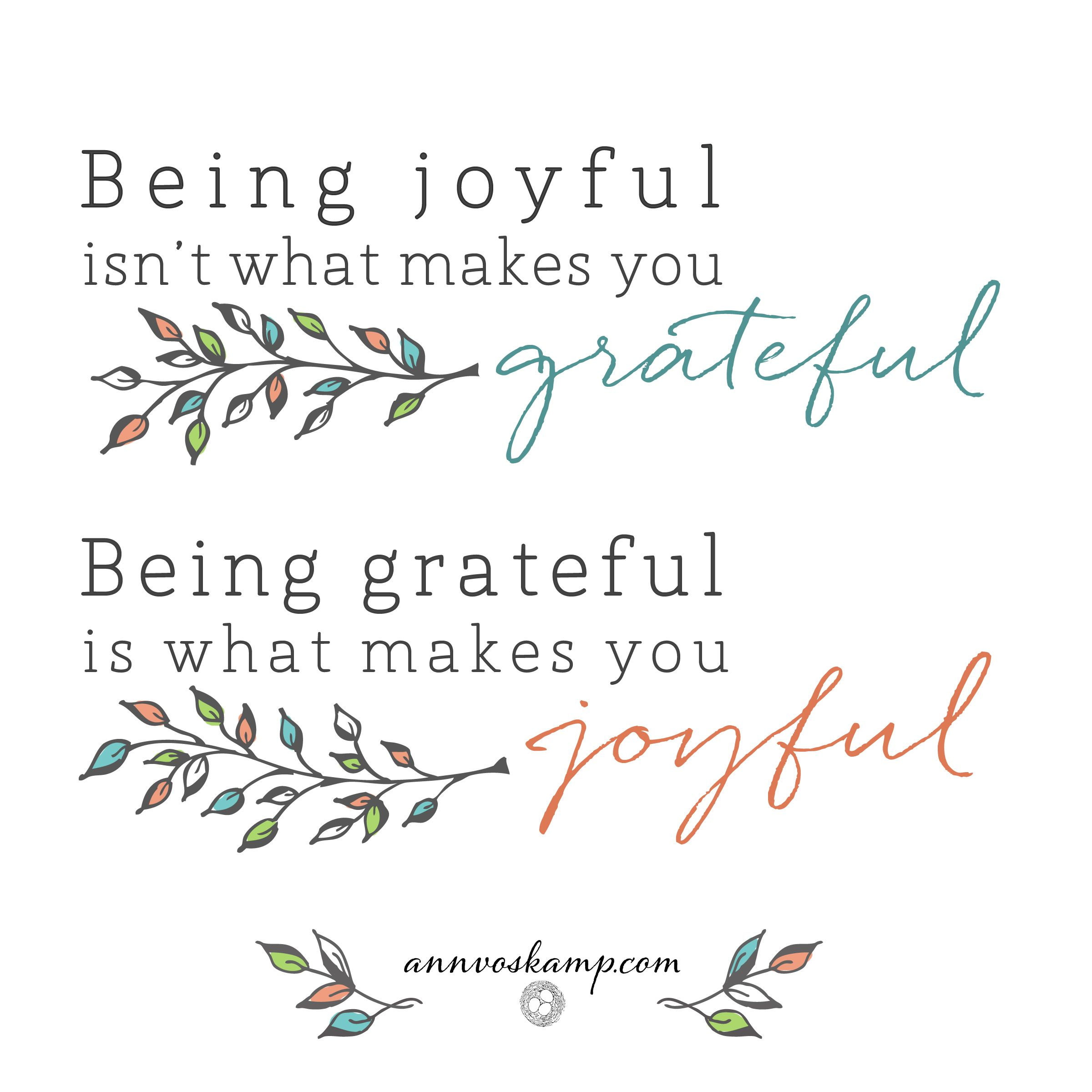 Sticky Notes for the Soul Joyful, Grateful and Ann
